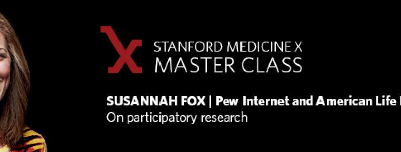 A master class with Susannah Fox